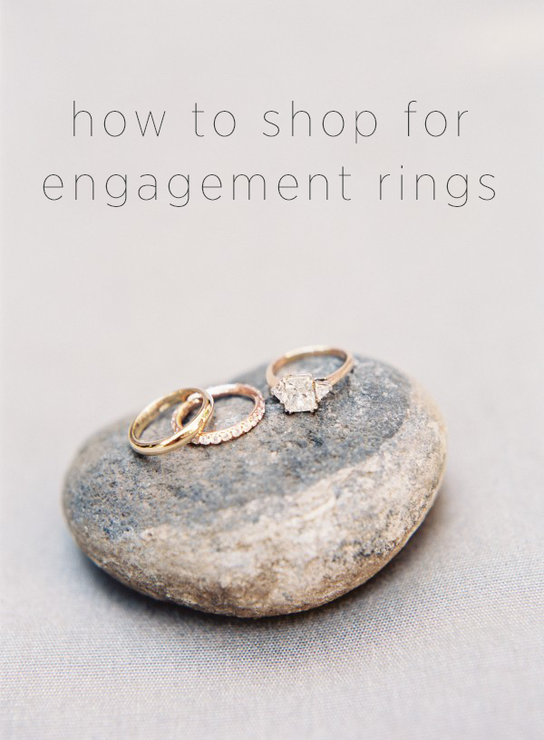 How to Shop for Engagement Rings | OnceWed.com