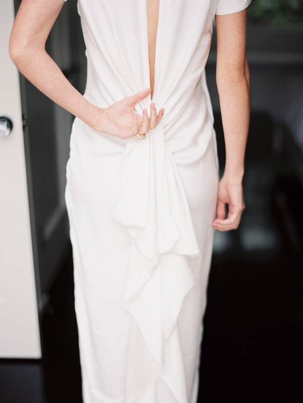 minimalist-deep-v-wedding-dress
