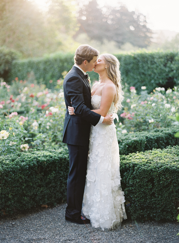 Outdoor Napa Garden Wedding