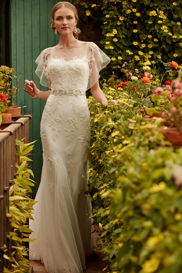 Inspired wedding dresses from bhldn oncewedcom for Beholden wedding dresses