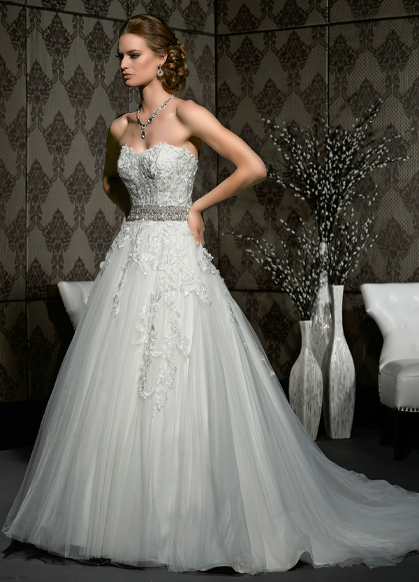 Beautiful Wedding Dresses from Impression Bridal - Once Wed
