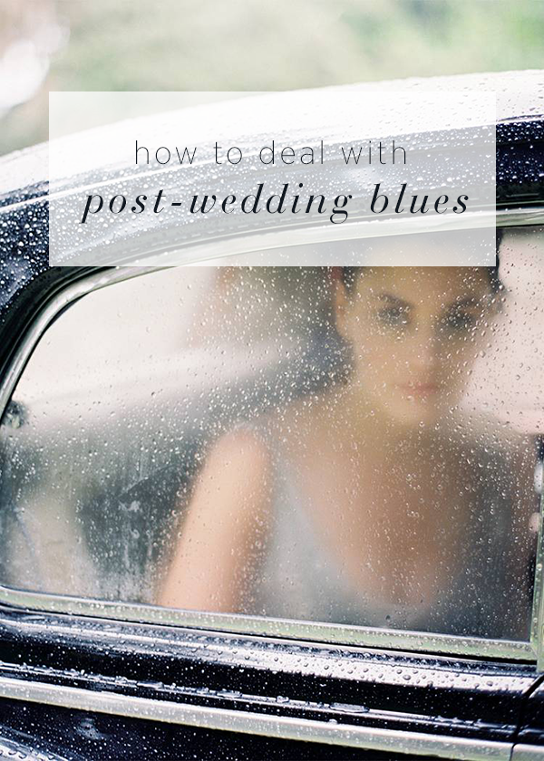 How to Deal with Post-Wedding Blues