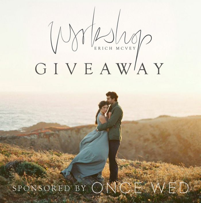 CLOSED! GIVEAWAY! Erich McVey Workshop