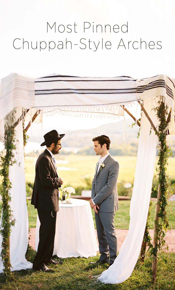 Most Pinned Chuppah-Style Arches