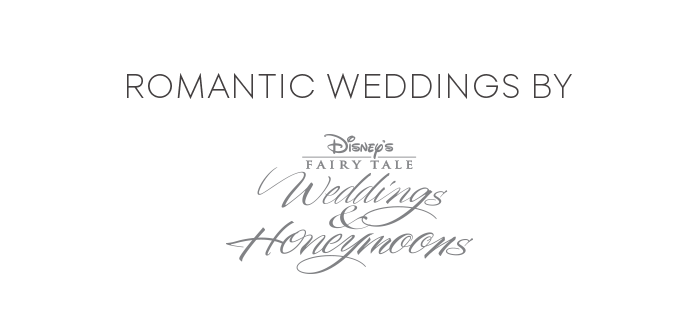 Romantic Weddings by Disney