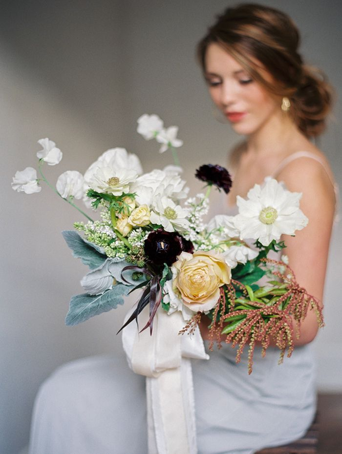 Organic Wedding Flower Inspiration