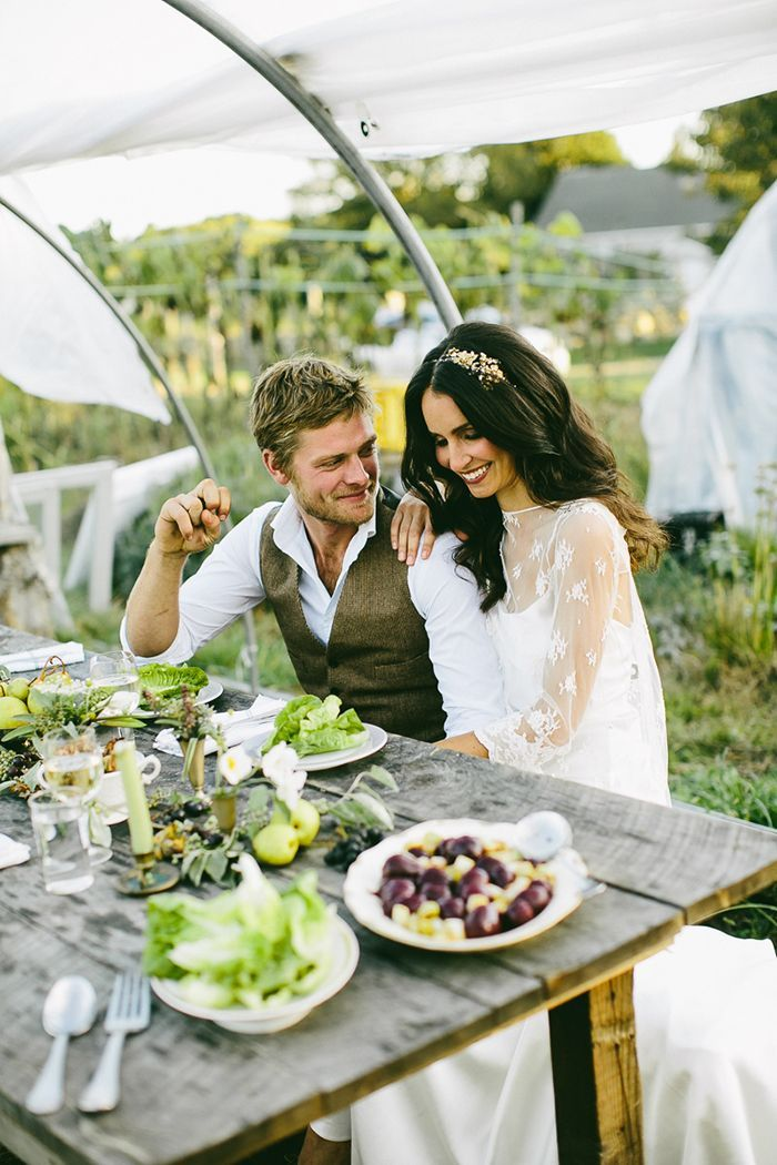 10-picnic-table-white-lace-wedding-gown