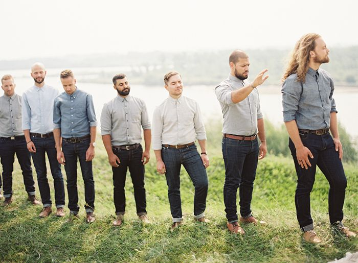 12-groomsmen-jeans-chambray-button-down