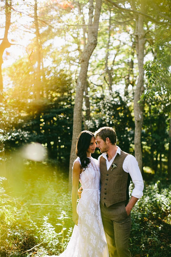 6-white-lace-wedding-dress-grey-vest
