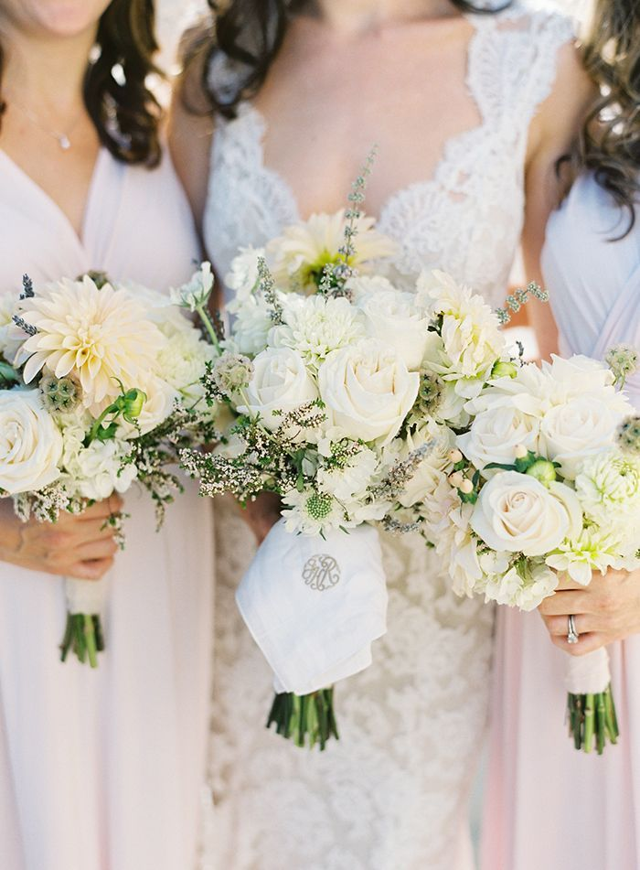 6-white-rose-wedding-bouquet-bridesmaids