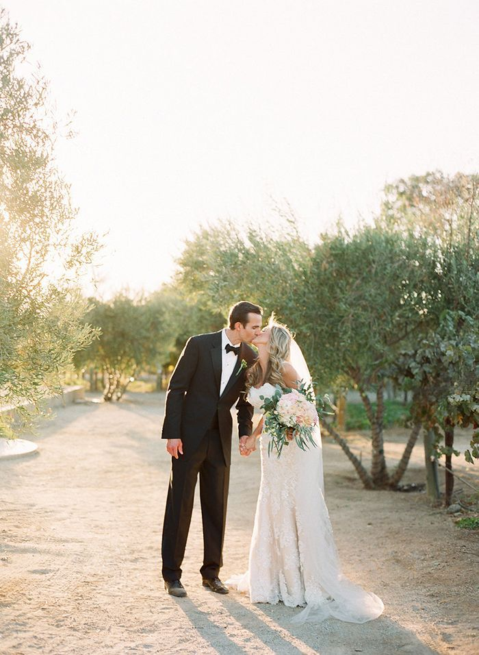 Classic Outdoor Wedding With California Flair