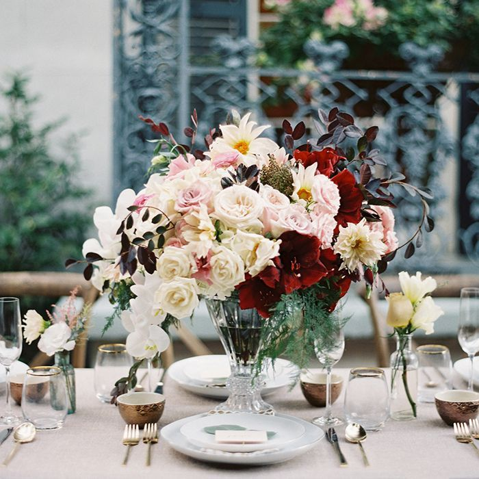 Rose Wedding Ideas: Secret Garden Inspired Wedding