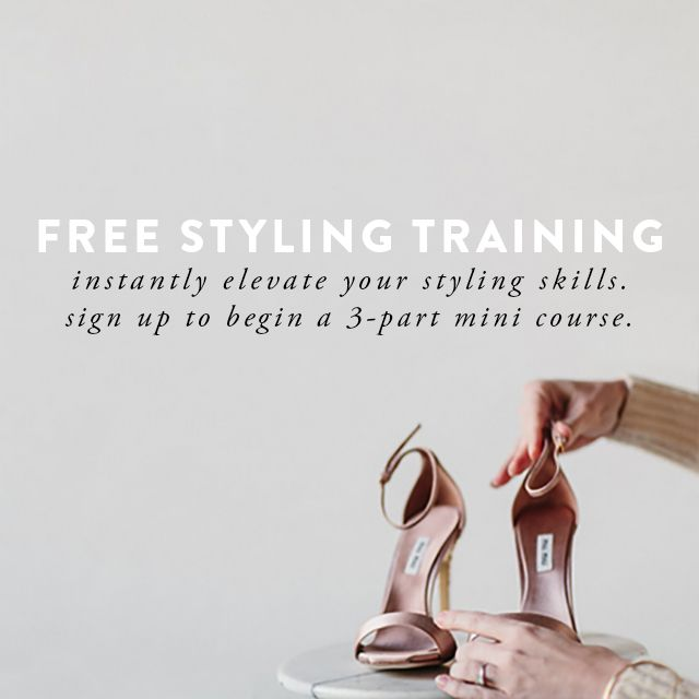 Free Styling Training from Once Wed + Joy Thigpen