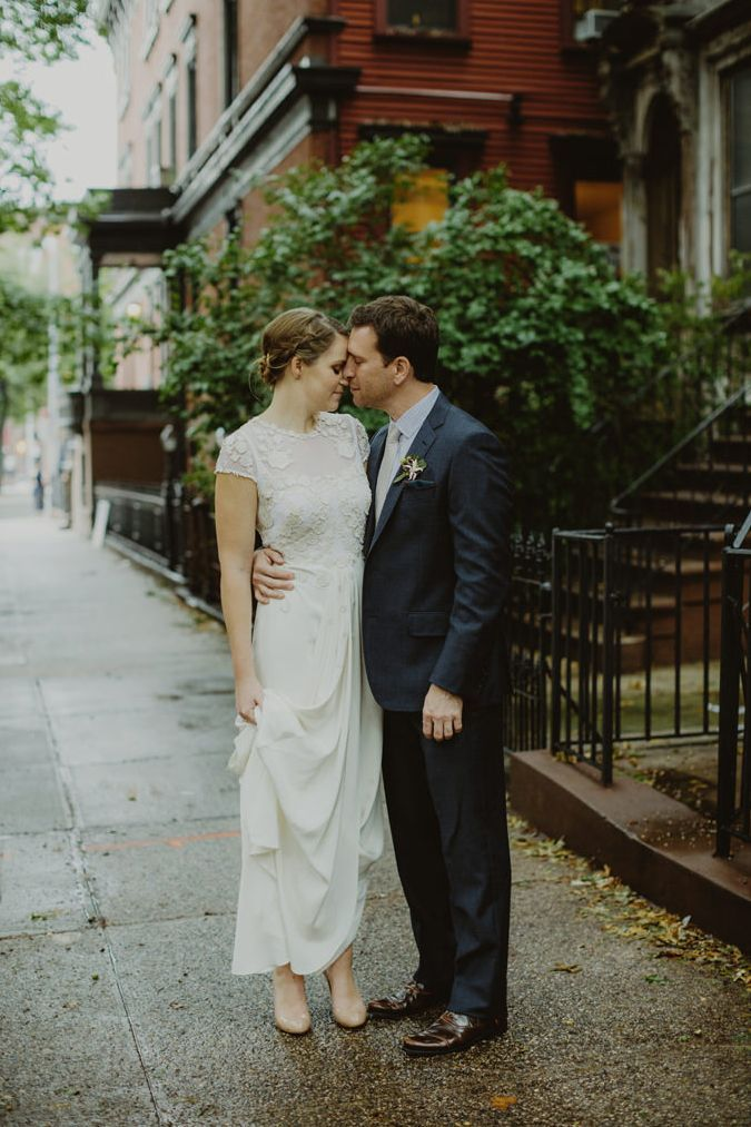 Minimalist Flatbush Wedding