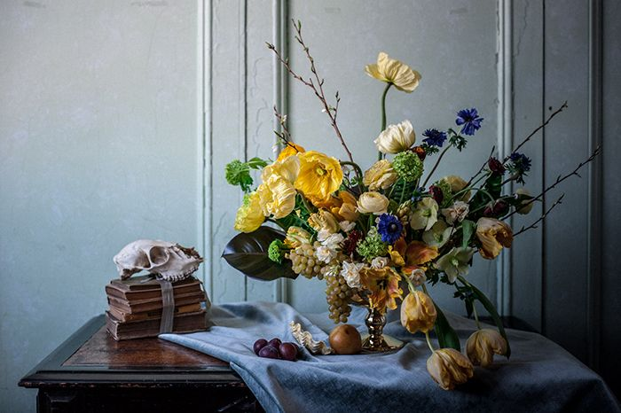 Colorful Wedding Flowers: Inspired by the Dutch Masters