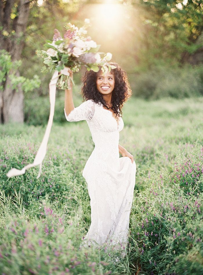 Romantic Spring Bridal Portraits