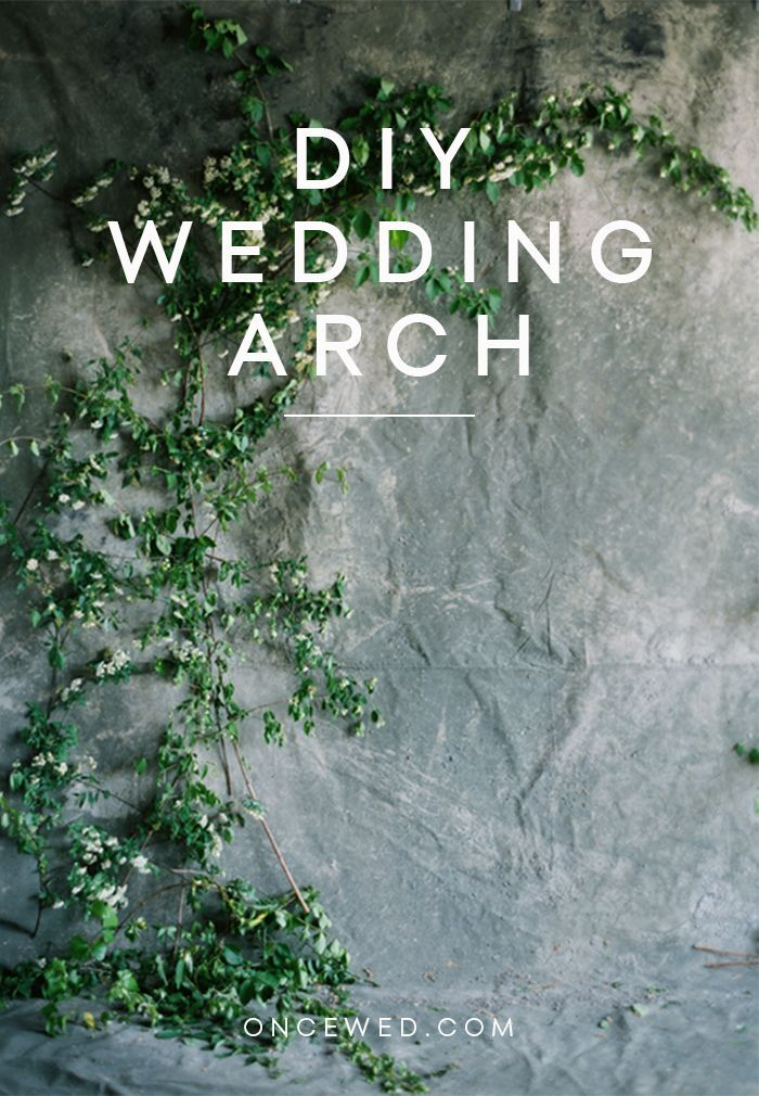 Diy Wedding Arch Diy Weddings Oncewed Com