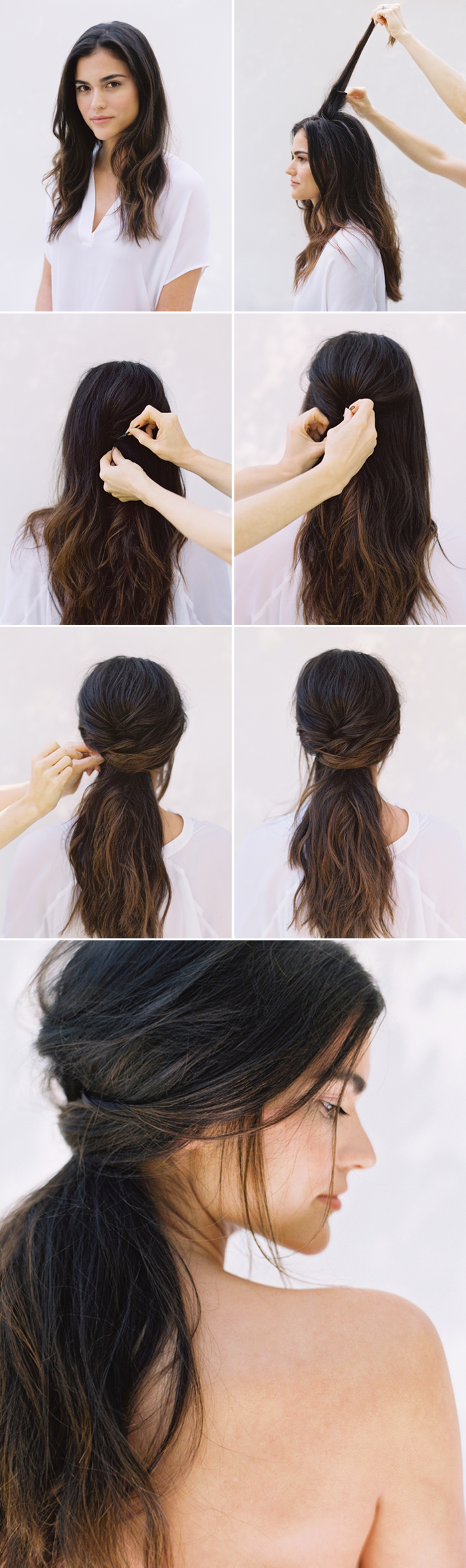 diy-half-up-half-down-wedding-hairstyles-for-long-hair