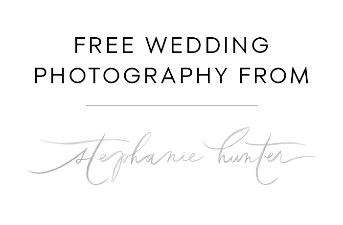 Free Wedding Photography from Stephanie Hunter Photography