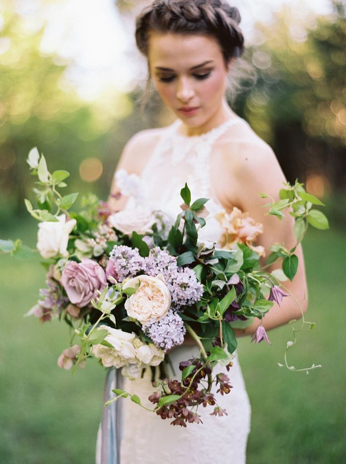 Lilac Bridal Portrait Session Wedding Ideas Oncewed Com