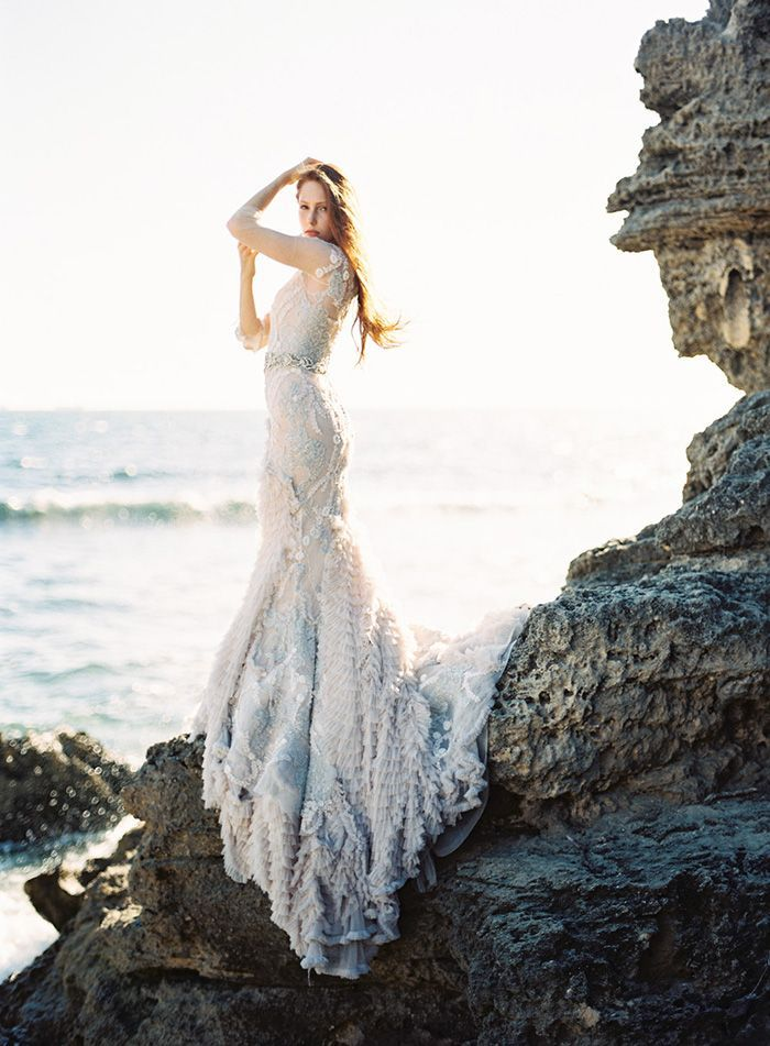 Warm Coastal Wedding Inspiration