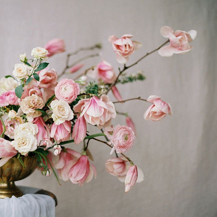 Soft Romantic Spring Wedding Ideas: Soft Pink Spring Wedding Inspiration