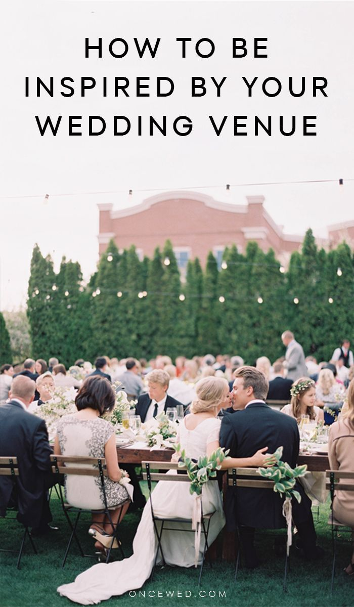 Being Inspired By Your Wedding Venue