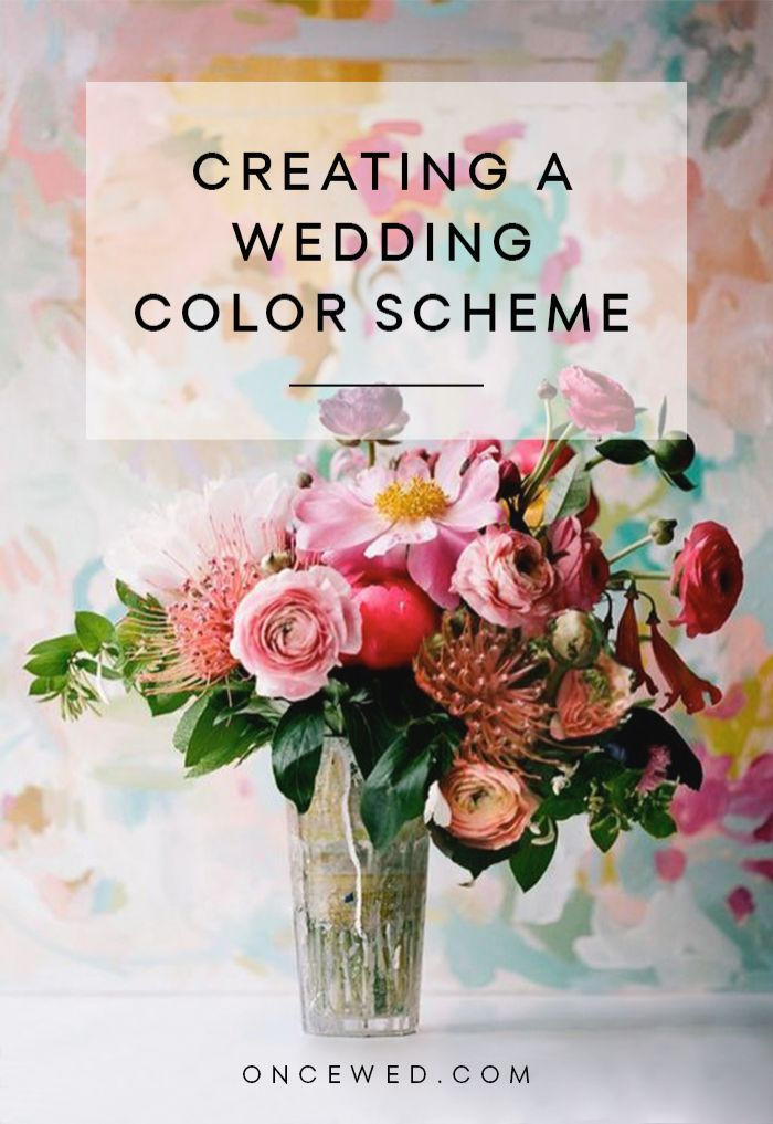 Tips for Creating a Wedding Color Scheme