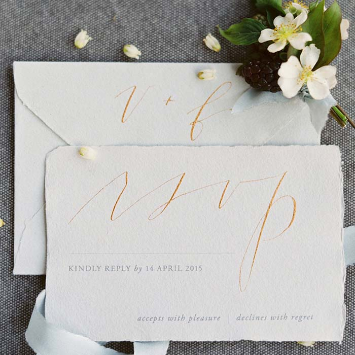 15 Wedding Calligraphy Ideas