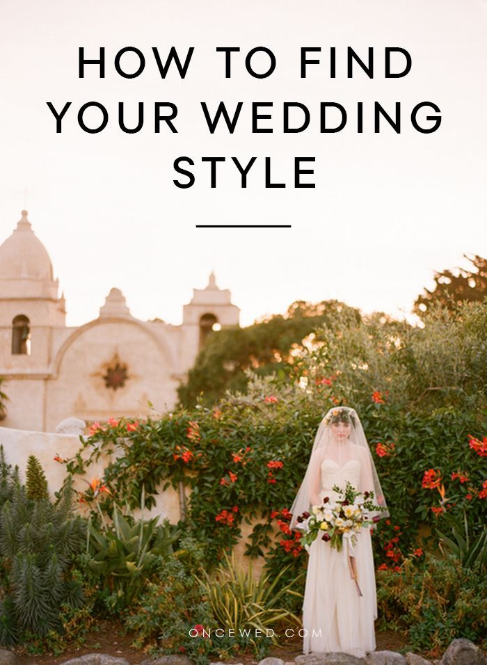 How to Find Your Wedding Style