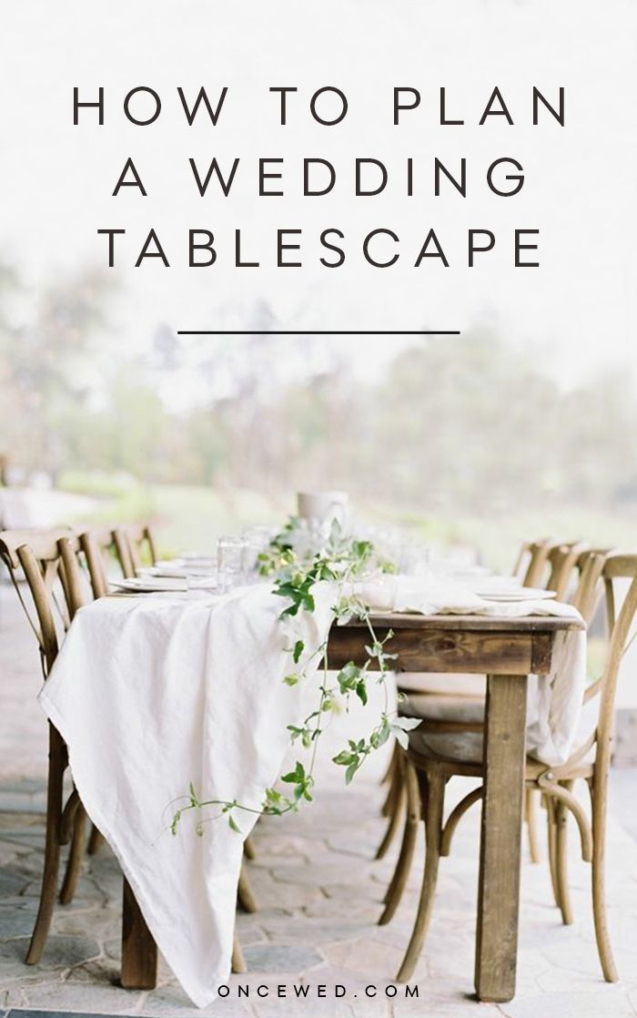 How to Plan a Wedding Tablescape