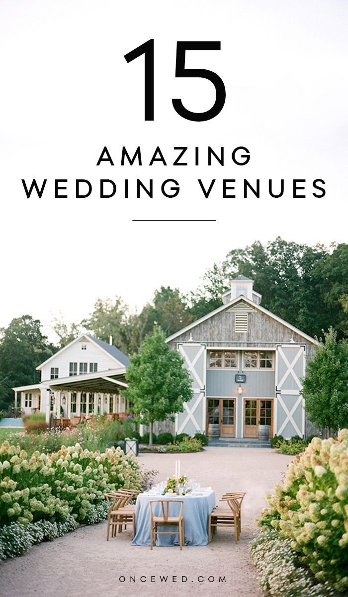 Wedding Venues to Inspire