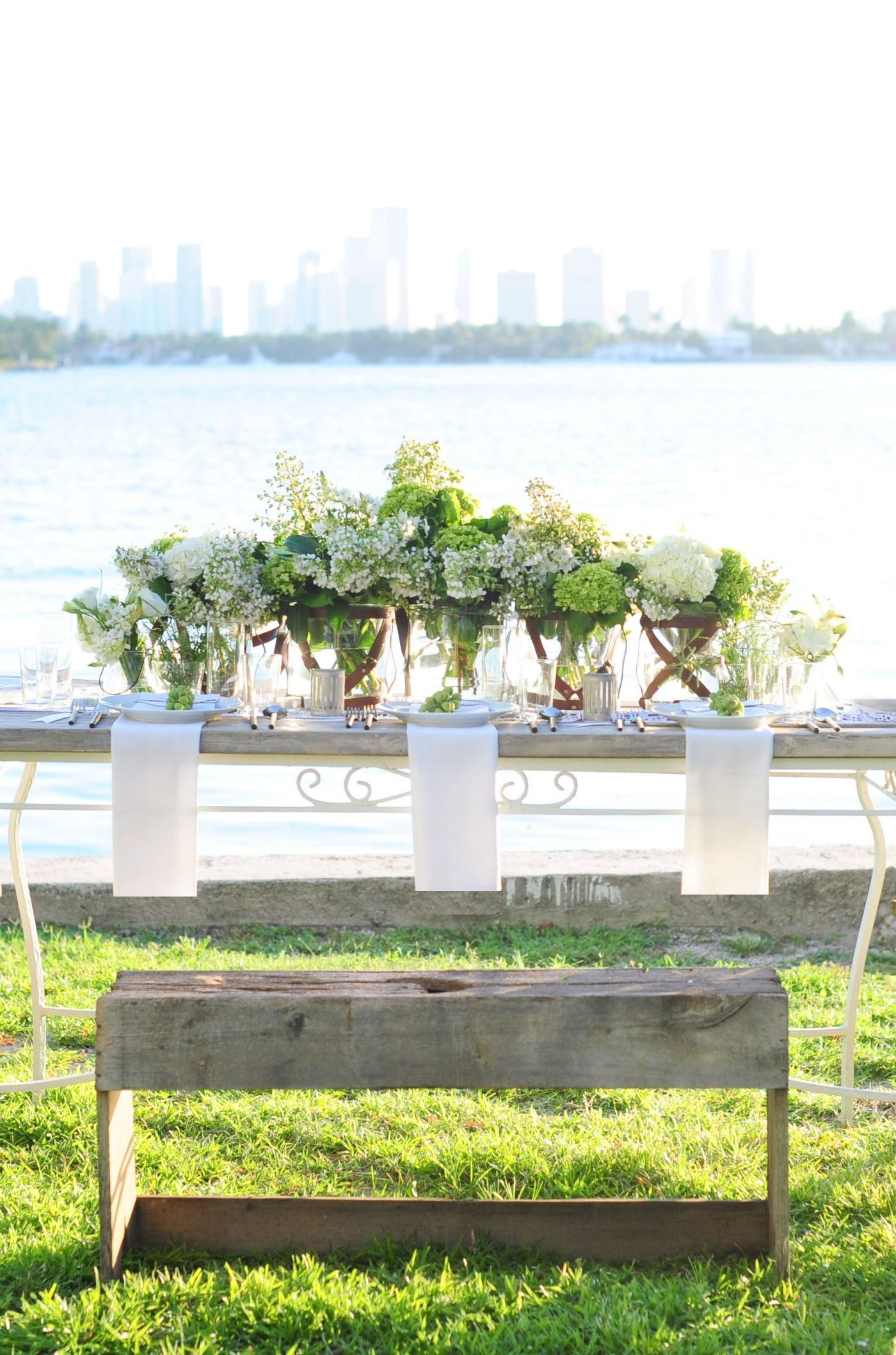 Green Garden Wedding: Garden, green, organic and romantic with a touch of whimsical.