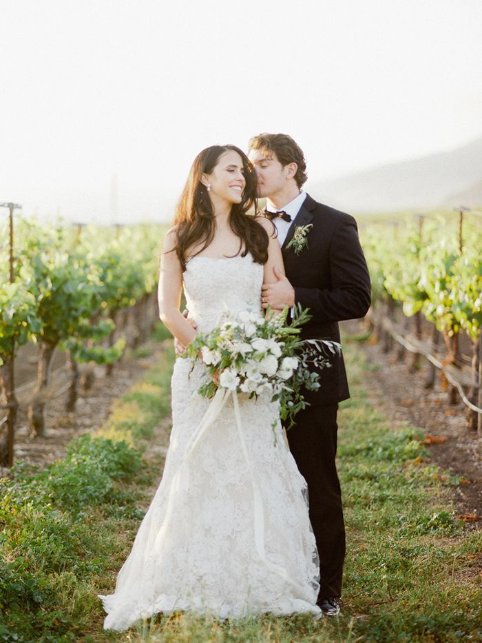 A Classic Vineyard Wedding