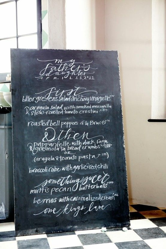 chalk-board-menu-board