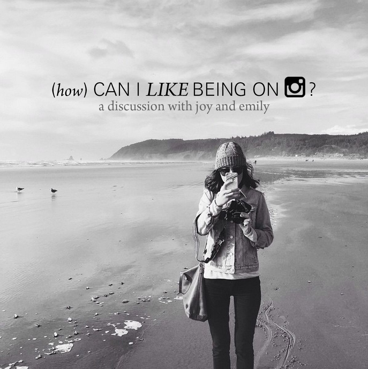 (how) Can I like being on Instagram?