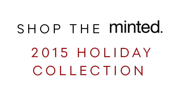 Shop the Minted 2015 Holiday Collection