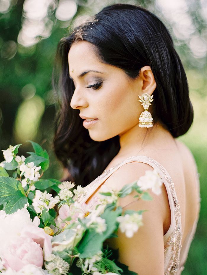 Soft and Ethereal Bollywood Wedding Inspiration