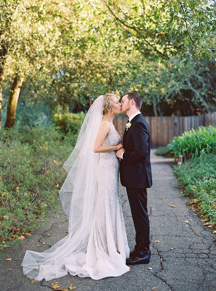Elegant Garden Wedding in Wine Country
