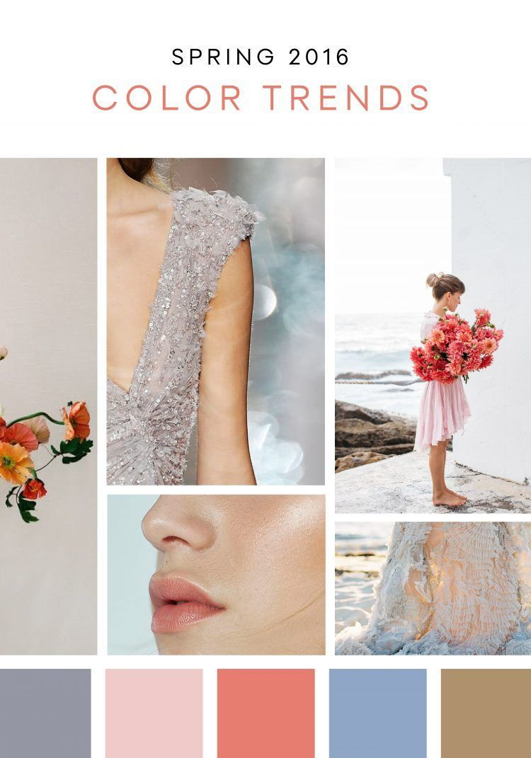 Pantone-inspired wedding ideas for Spring