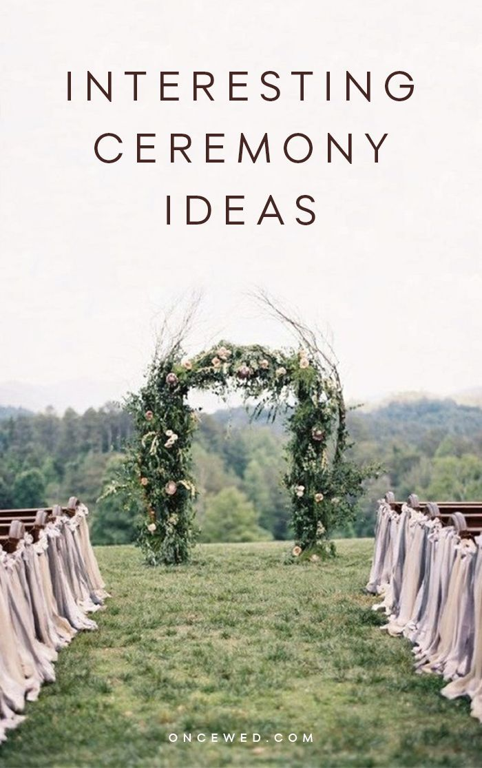 Unique Ceremony Ideas