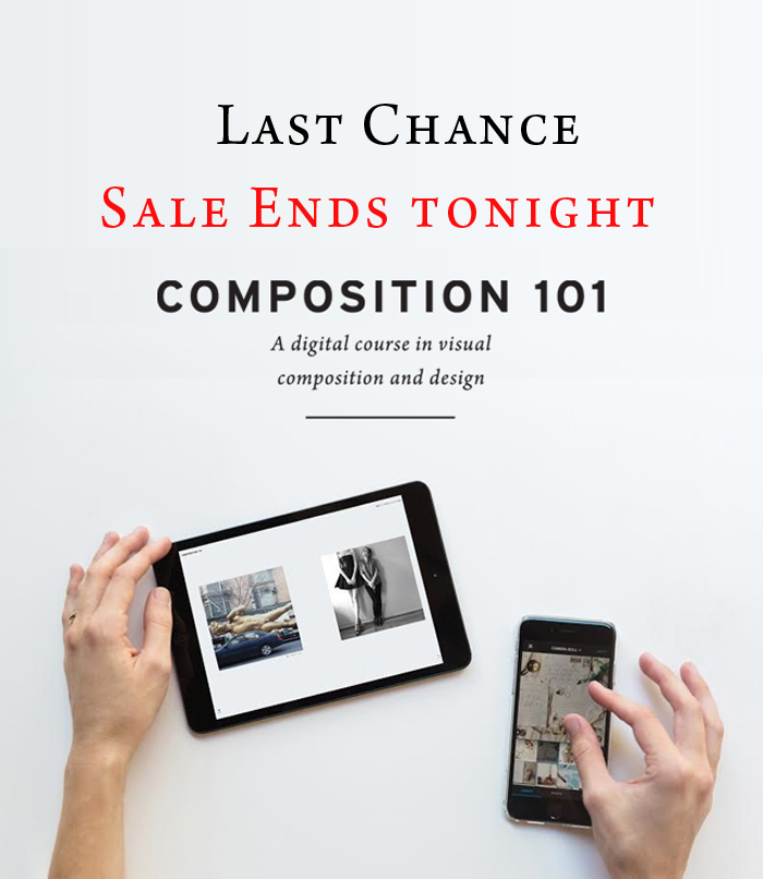 Last Chance - Composition 101 sale ends tonight