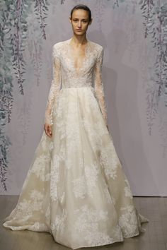 Monique Lhuillier Bridal Fall 2016