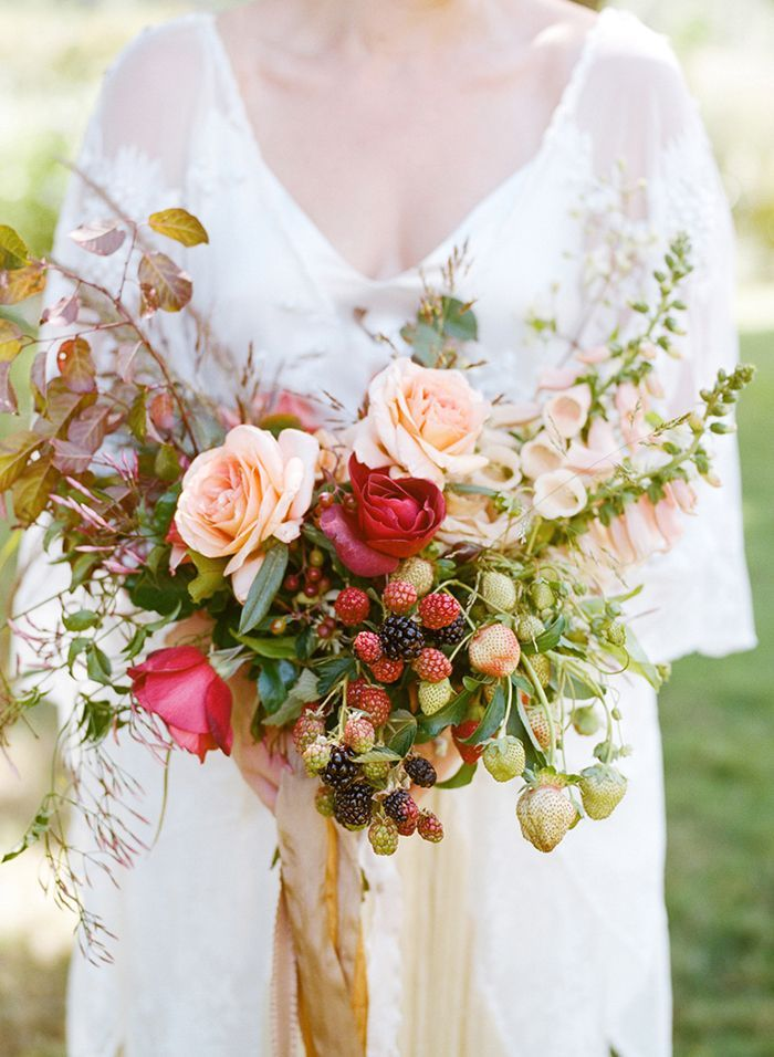 Bohemian Outdoor Farm Wedding