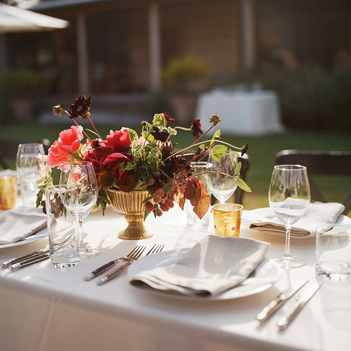 Simple Outdoor Wedding Reception Ideas: Bohemian Outdoor Farm Wedding