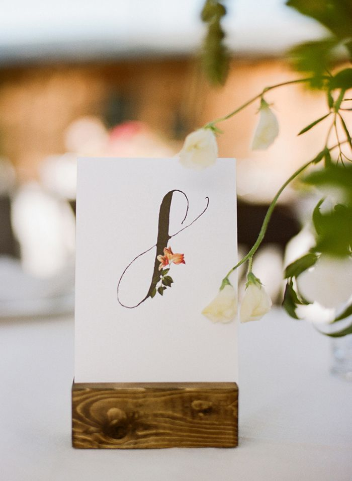 16-calligraphy-table-number-ideas