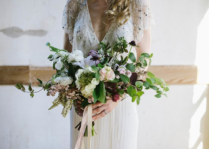 Artistic Indoor Wedding with Botanical Inspiration