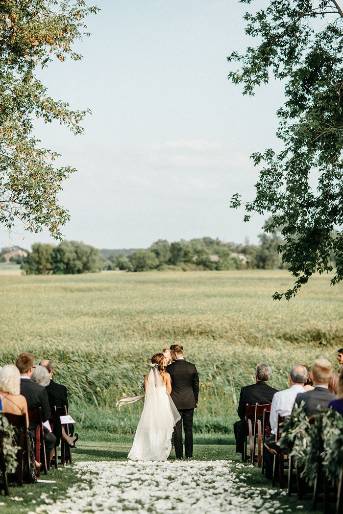 Romantic Farm Wedding In Minnesota