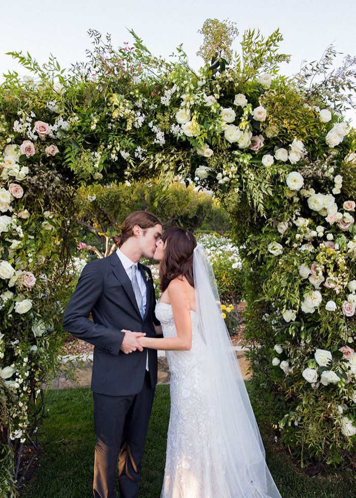 Romantic Outdoor Wedding in California