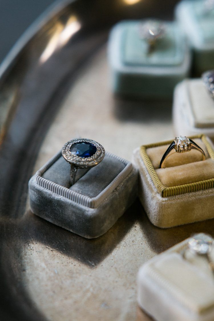 Vintage Engagement Rings from Trumpet & Horn